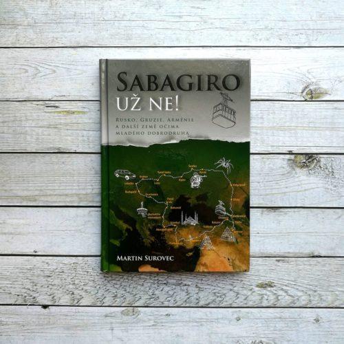Kniha Sabagiro už ne!