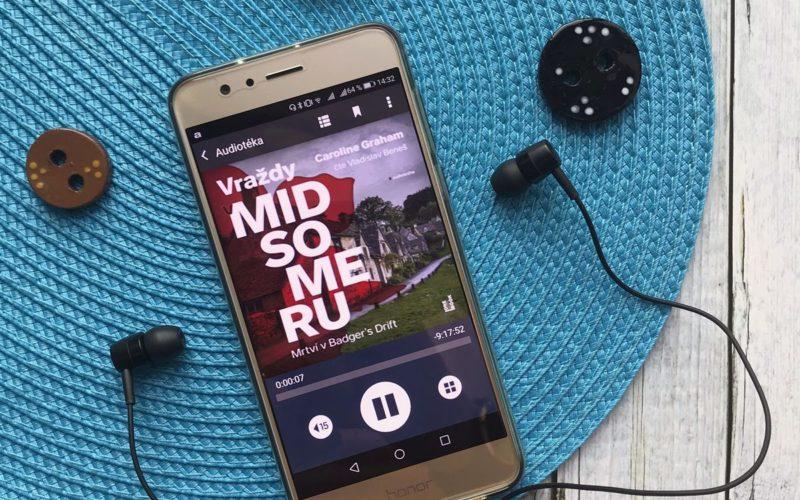 Audiokniha Mrtví v Badger's Drift